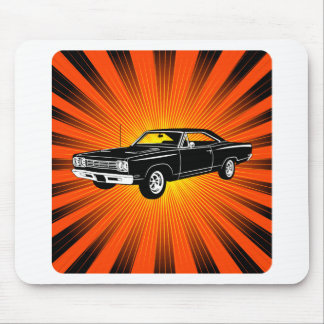 Correcaminos 1969 de Plymouth Tapete De Ratones