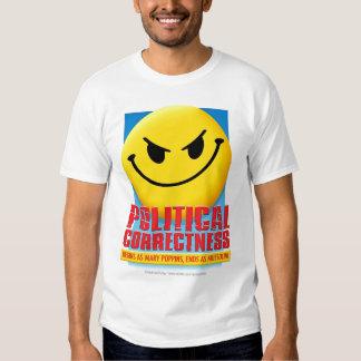 Corrección política camisas