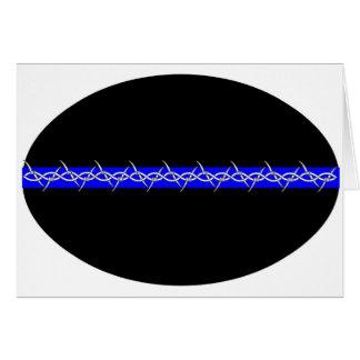 Correcciones de púas de Blue Line Felicitacion
