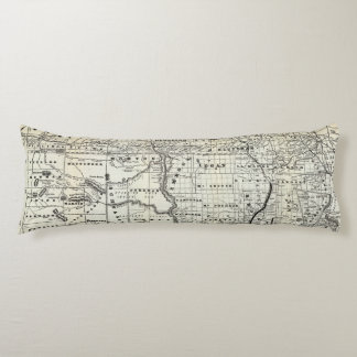 Correct map of Dakota Body Pillow