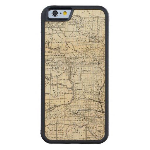 Correct map of Dakota Carved® Maple iPhone 6 Bumper