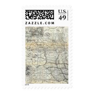 Correct map of Dakota Postage Stamp