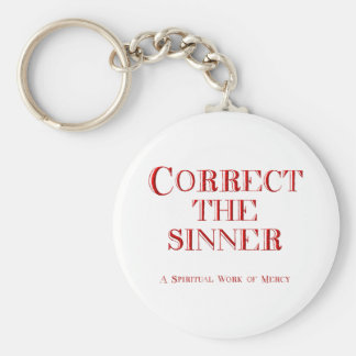 Correct the sinner keychain