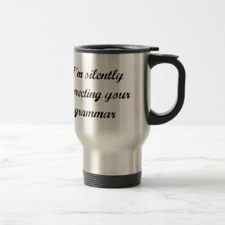 Correcting Your Grammar Travel Mug