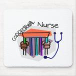 Correctional (Jail Prison) Nurse Mouse Pads