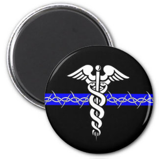 Correctional Nurse 2 Inch Round Magnet