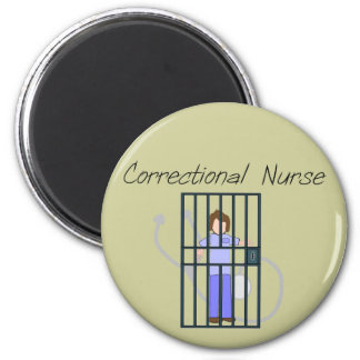 Correctional Nurse T-Shirts & Gifts Magnet