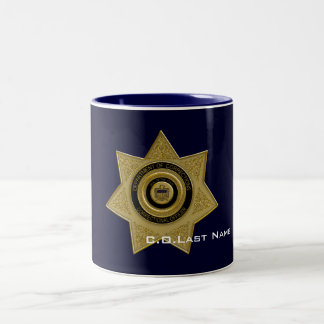 Correctional Officer Badge Coffee Mug