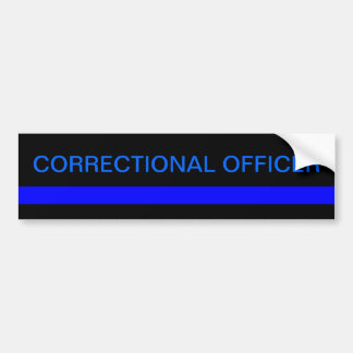 Correctional officer bumper sticker