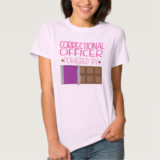 Correctional Officer Chocolate Gift for Her T-Shirt
