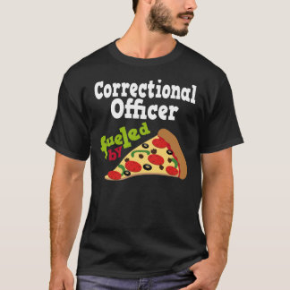 Correctional Officer (Funny) Pizza T Shirt