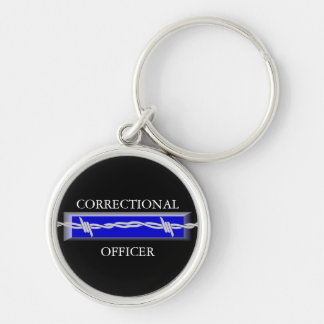 Correctional Officer Law Enforcement Keychain