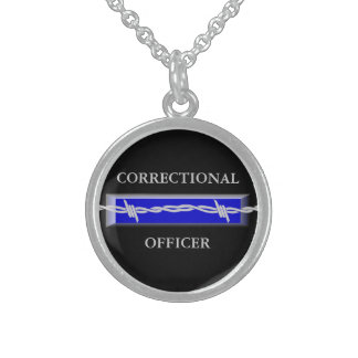 Correctional Officer Law Enforcement Necklace