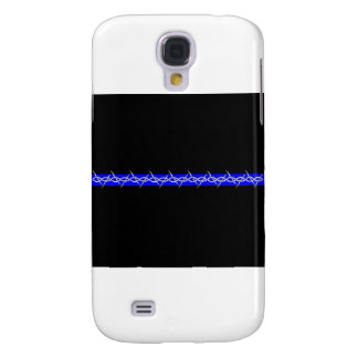 Corrections Barbed Wire Blue Line Galaxy S4 Cover