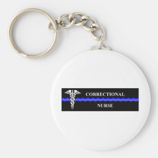 Corrections Nursing  rectangle Keychain