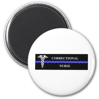 Corrections Nursing  rectangle Magnet
