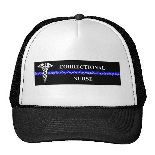 Corrections Nursing  rectangle Trucker Hat