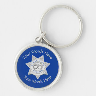 Corrections Officer Badge Universal Keychain
