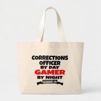Corrections Officer Gamer Large Tote Bag