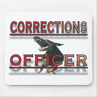 CORRECTIONS OFFICER MOUSE PAD
