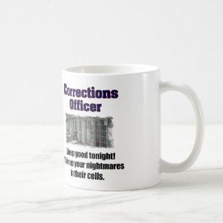 Corrections Officer Nightmares Coffee Mug