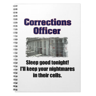 Corrections Officer Nightmares Notebook