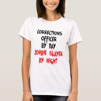 Corrections Officer Zombie Slayer T-Shirt