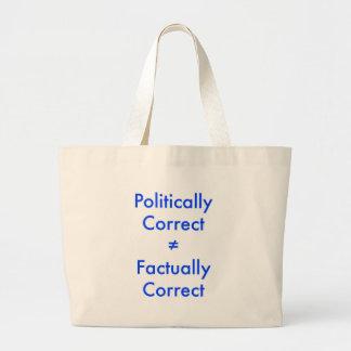 Correcto no está político el ≠ igual efectivo al c bolsa de mano