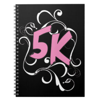 corredor 5k o caminante cuadernos