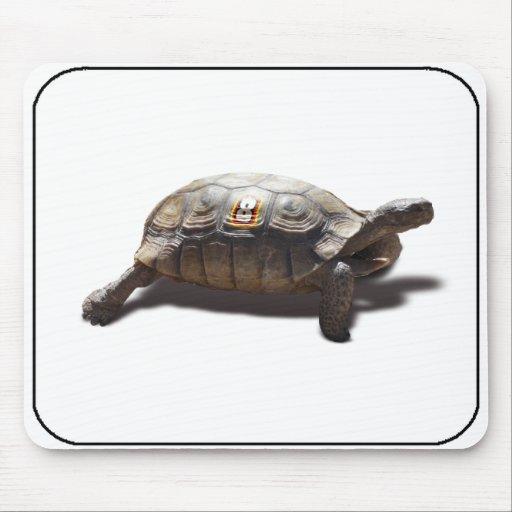 Corredor #8 de la tortuga alfombrillas de raton