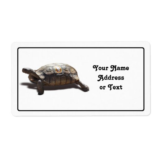 Corredor #8 de la tortuga etiquetas de envío