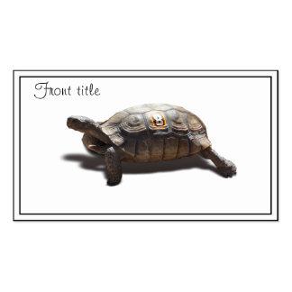 Corredor #8 de la tortuga tarjetas de visita