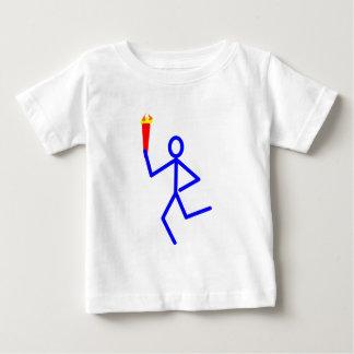 Corredor antorcha runner torch playera