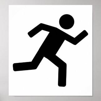 Corredor - corriendo impresiones
