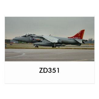 Corredor de cross GR9 ZD351 Tarjeta Postal
