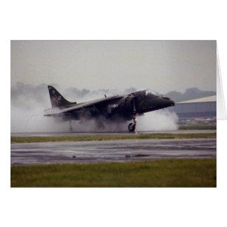 Corredor de cross GR-7 del espacio aéreo británico Tarjeta De Felicitación