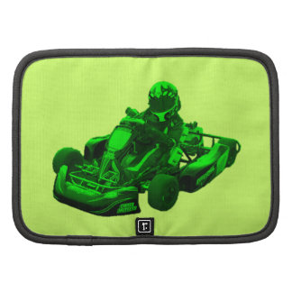 Corredor de Kart en verde Organizadores
