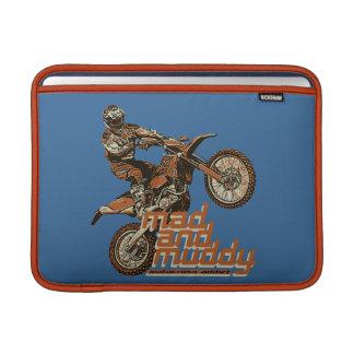Corredor de la motocicleta funda macbook air