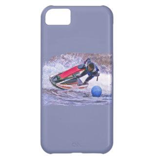 Corredor de la onda alrededor de la boya funda iPhone 5C