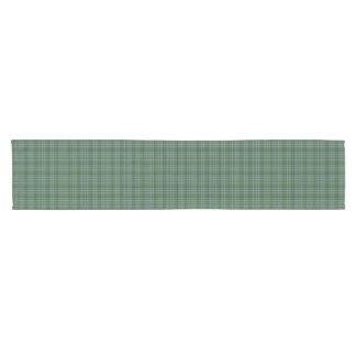 Corredor de la tabla de la tela escocesa de tartán camino de mesa corto