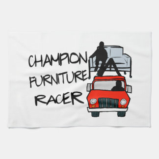 Corredor de los muebles del campeón toalla de cocina