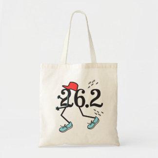 Corredor de maratón divertido bolsa