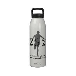 Corredor de maratón personalizado bebida del agua botellas de agua reutilizables