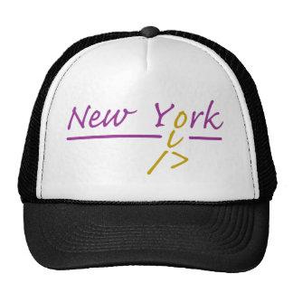 Corredor de Nueva York Gorro De Camionero