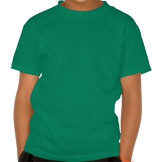 Corredor del barril en el corazón tee shirts