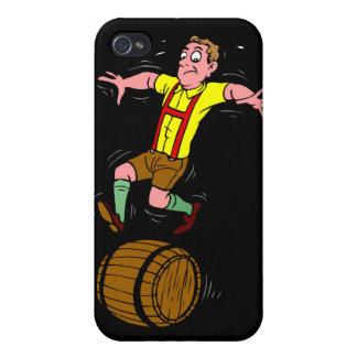 Corredor del barril iPhone 4 carcasa