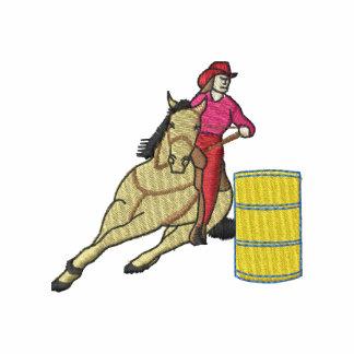 Corredor del barril sudadera con capucha