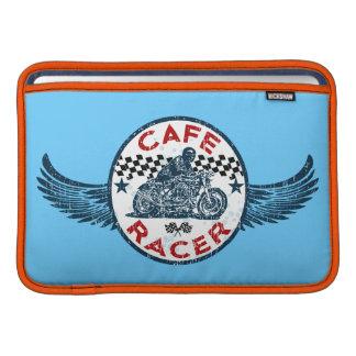 Corredor del café fundas MacBook