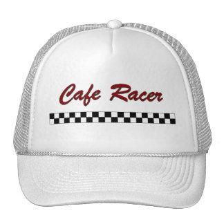 Corredor del café gorras de camionero