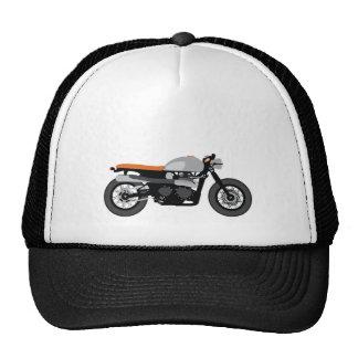 Corredor del café/motocicleta de la bici del palo gorras de camionero